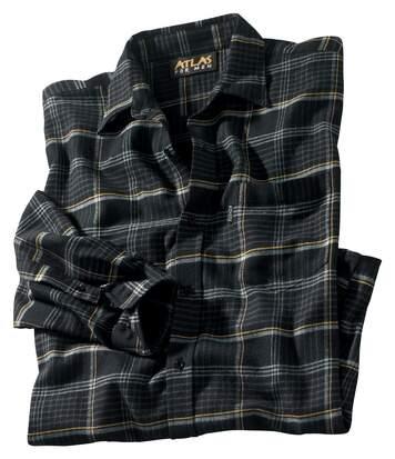 Фланелевая Рубашка в Пестротканую Клетку от Atlas For Men