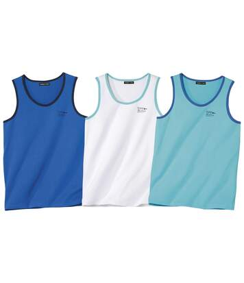 3er-Pack Tanktops Yachting