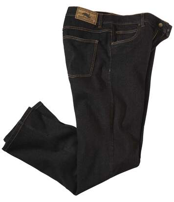 Zwarte regular stretch jeans