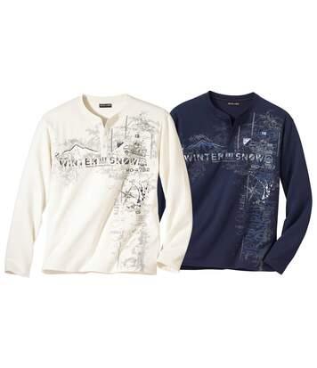Zestaw 2 t-shirtów z nadrukiem Evasion