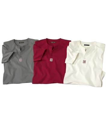 3 darabos tunéziai nyakú Mythic Raid póló szett