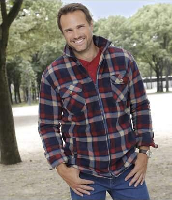 Утепленная Рубашка из Флиса Atlas For Men