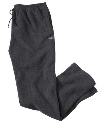Men's Dark Grey Fleece Joggers