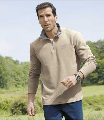 2er-Pack Polo-Shirts Outdoor aus Microfleece