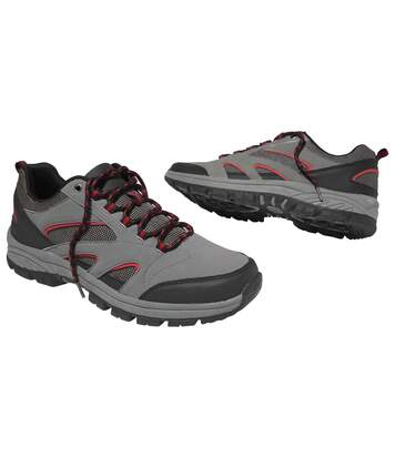 Men's Grey Sports-Casual Shoes