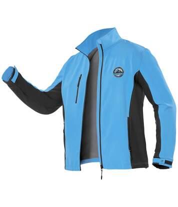 Куртка из Материала Софтшелл с Подкладкой из Микрофлиса