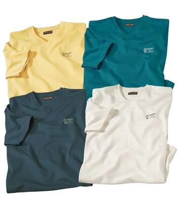 Set van 4 Desert T-shirts