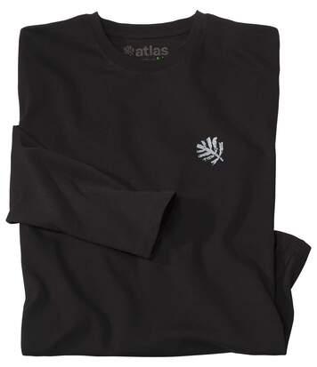 Le Tee-Shirt Homme Manches Longues Coton Bio Noir