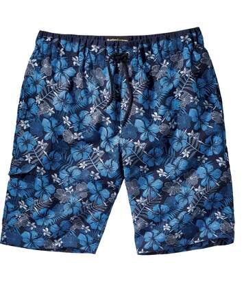 Men's Blue Tuamotu Swimming Shorts