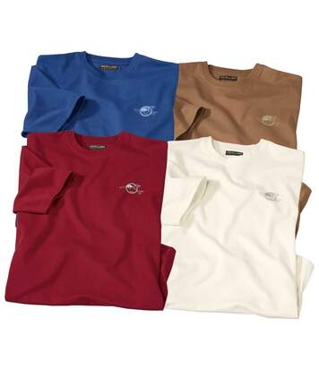Set van 4 Outdoor T-shirts