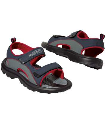 Men's All-Terrain Sandals - Black Grey