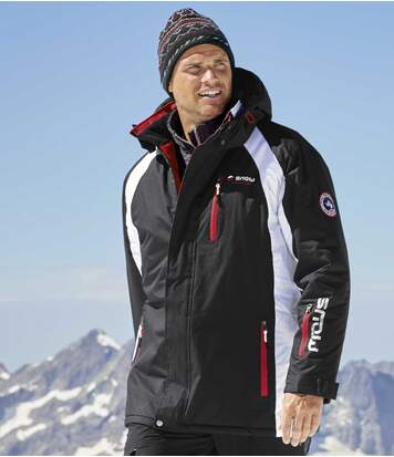 Parka Ski à Capuche Ski Moutain Tech