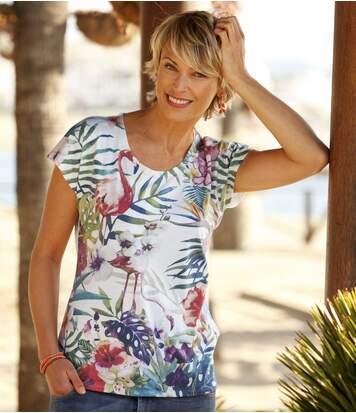 T-Shirt Tropical Colours