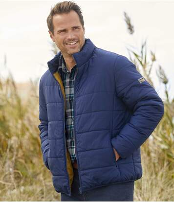 Men's Lightweight Blue Atlas For Men® Puffer Jacket