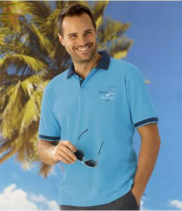 2er-Pack Poloshirts Island Sport