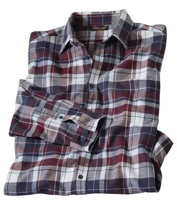 Jesienna flanelowa koszula