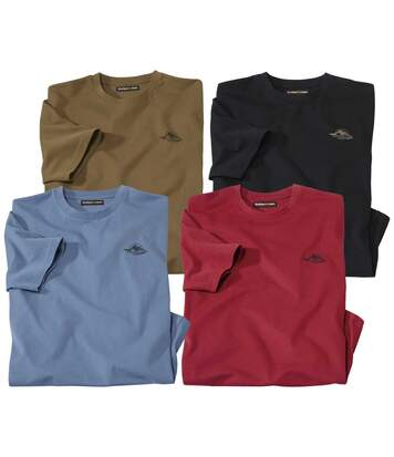Lot de 4 Tee-shirts Rocky Mountain