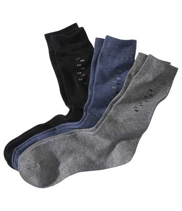 Sada 3 párů ponožek s motivy