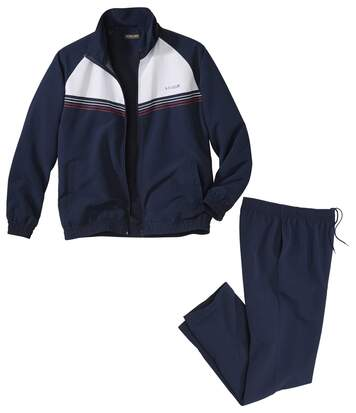 Men's Navy Outdoor Tracksuit