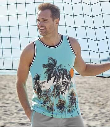 2Palm Beach mintájú trikóból álló szett