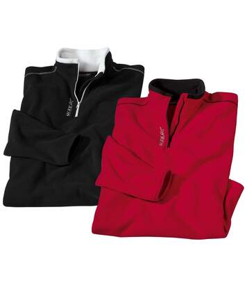 2er-Pack Pullover aus Microfleece von Atlas For Men
