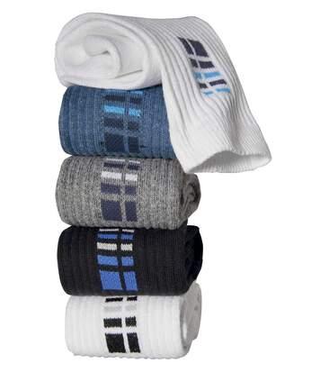 Sada 5 párů sportovních ponožek
