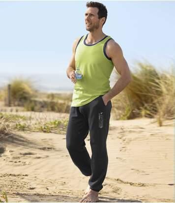 Schlupfhose Jogging aus Molton