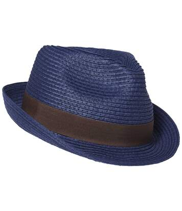 Men's Navy Dual-Colour Summer Hat