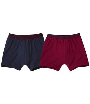 Súprava 2 jednofarebných boxeriek