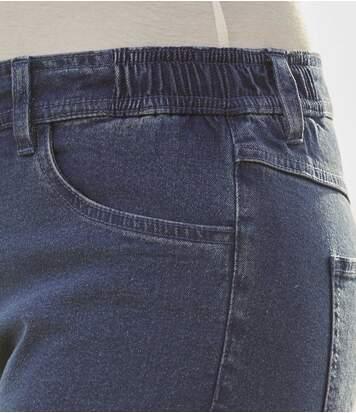 Kuitbroek van stretch jeans