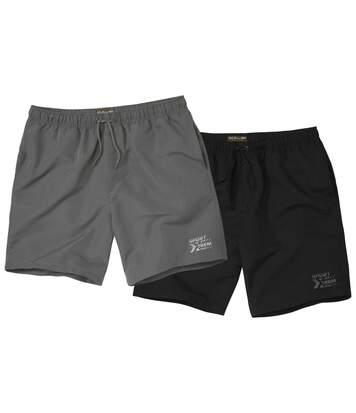 2er-Pack Shorts Komfort aus Microfaser