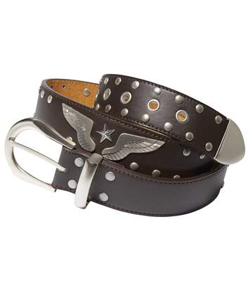 Ceinturon Homme Marron Rodeo Ranch