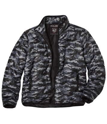 Doudoune Imprimé Camouflage