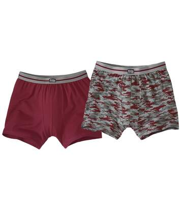 Lot de 2 Boxers Stretch Confort