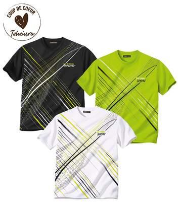 Lot de 3 Tee-Shirt Sporting