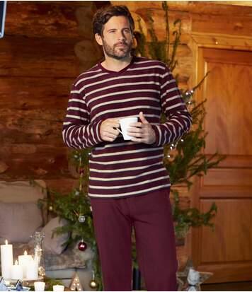 Pohodlné pyžamo na zimné obdobie