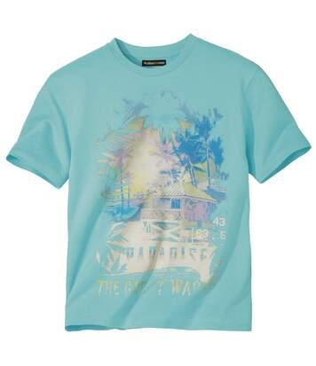 Tričko spotlačou Paradise