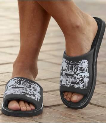 Men's Grey Pacific Coast Sliders