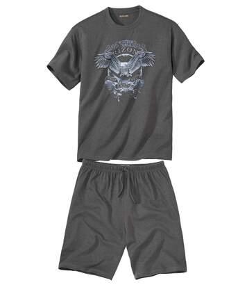 Piżama z szortami Arizona