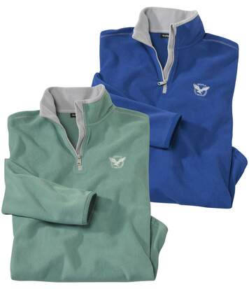 2er-Pack Fleecepullover Eagle
