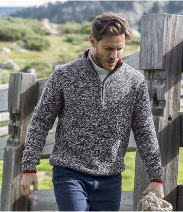 Melierter Pullover Sportswear