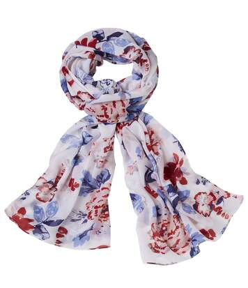Foulard Voile Flowers