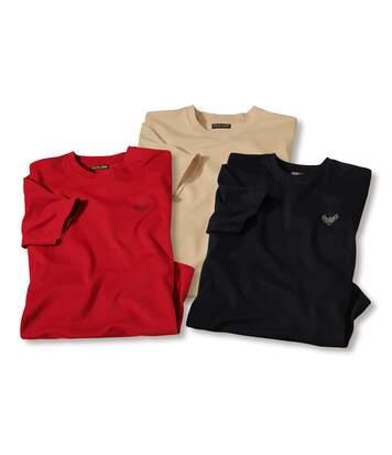3er-Pack T-Shirts King Eagle