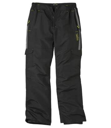 Men's Black Winter Sport Ski Trousers