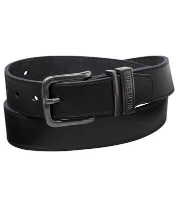 Men's Black Western Belt