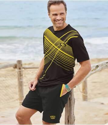 Set van 2 Sunny Beach shorts van microvezel