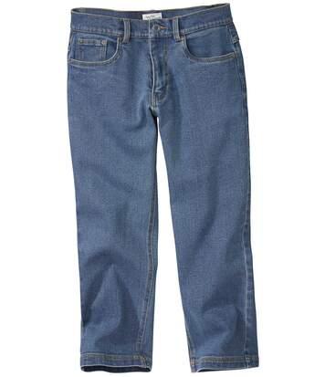 Driekwart jeansbroek