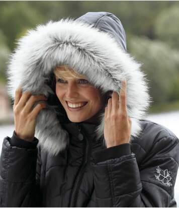 Prešívaná bunda do mrazivého počasia