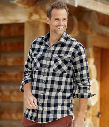 Geruit flanellen overhemd Atlas®