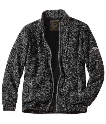 Raid Expedition tricotvest met fleece